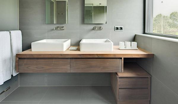 Modern houten badkamermeubel eindhoven casajoy